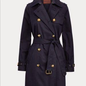 Ralph Lauren Cotton Twill Trench Coat
